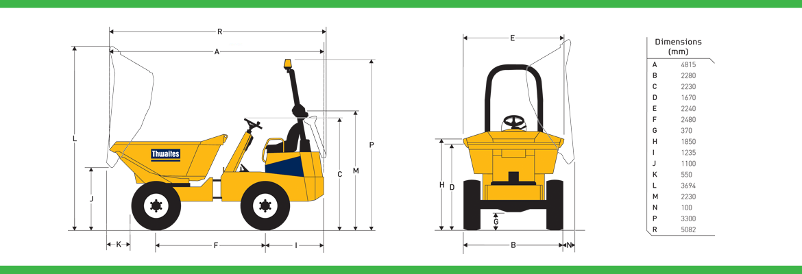 Applewood Plant Hire Dumpers