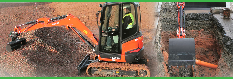 Applewood Plant Hire Excavators